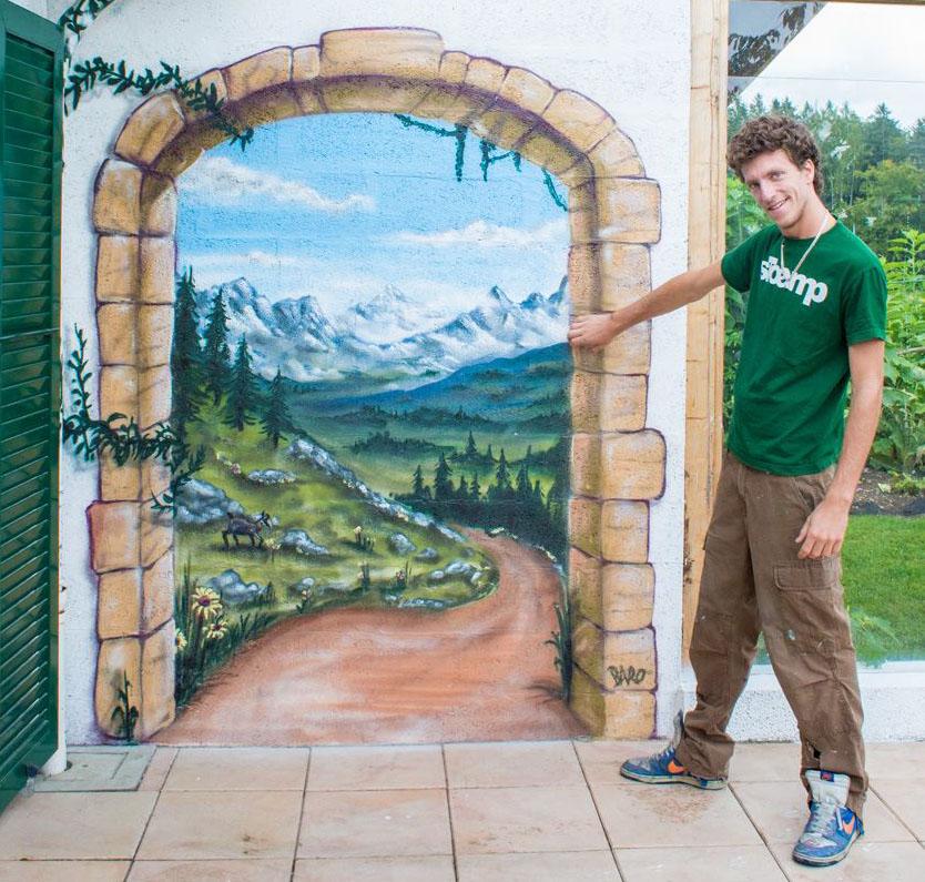 Graffiti Artist for Hire in Dubai