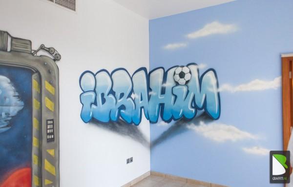 Ibrahim Room Palm Jumeirah Dubai Graffiti Uae