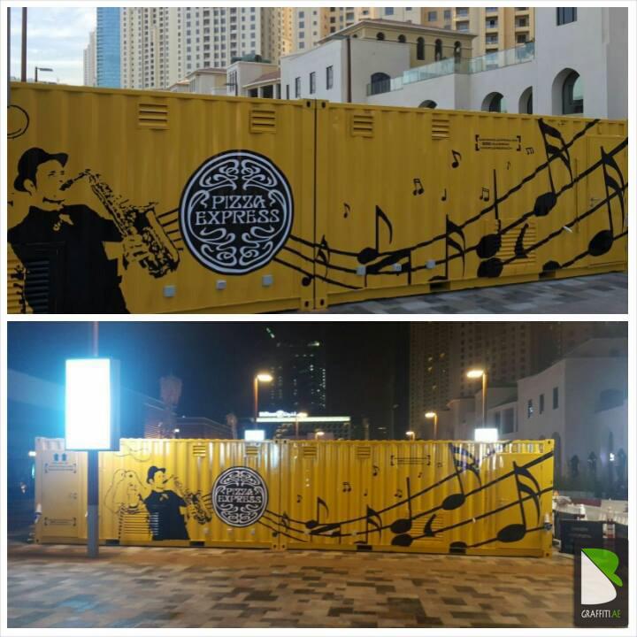 Container-Pizza-Artist-Graff-Dubai