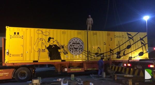 Container-painted-Artist-Graff-UAE
