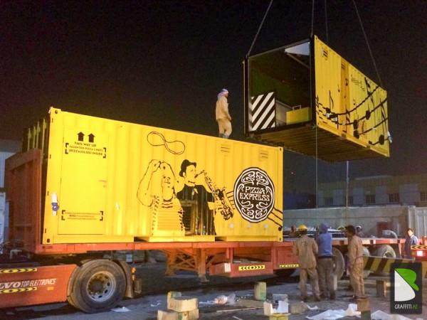 Container-transport-Art-Graff-Dubai