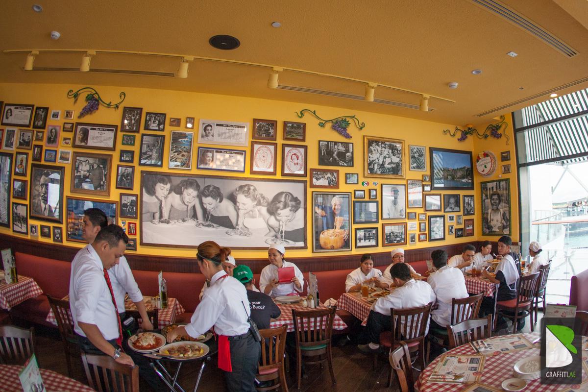 Buca di beppo italian restaurant yas mall abu dhabi for Ristorante cipriani abu dhabi