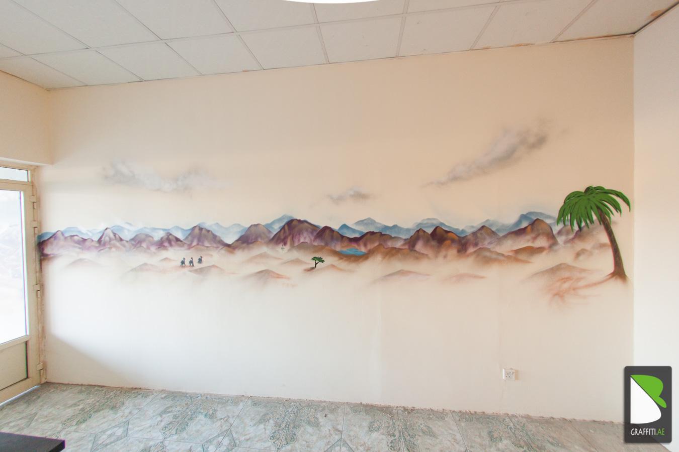 Graffiti wall uae - Uae Graffiti Artist Bike Shawka 3