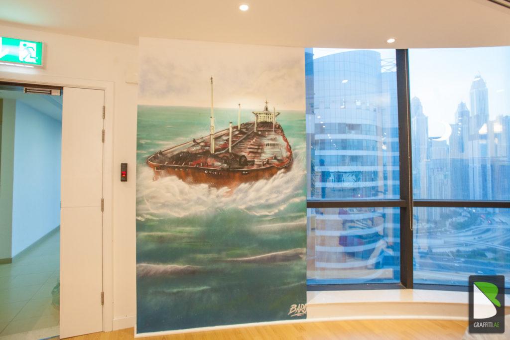 Boat-shipping-Jumeirah-Graffiti-Dubai-Emirate-4